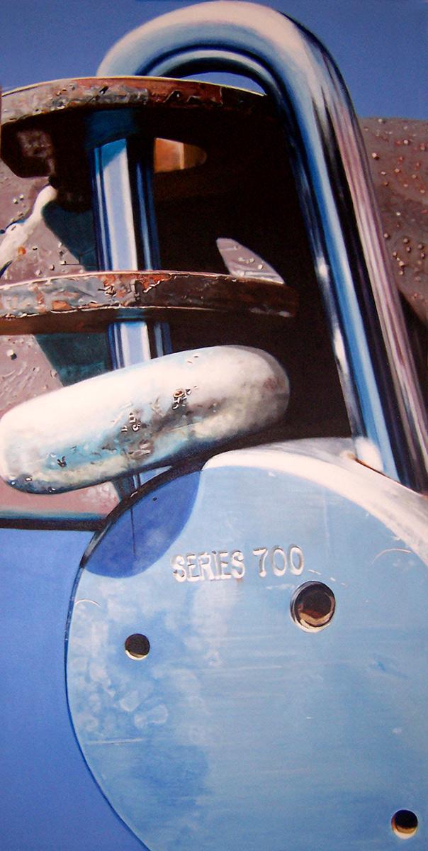 lock painting by LJ Lindhurst