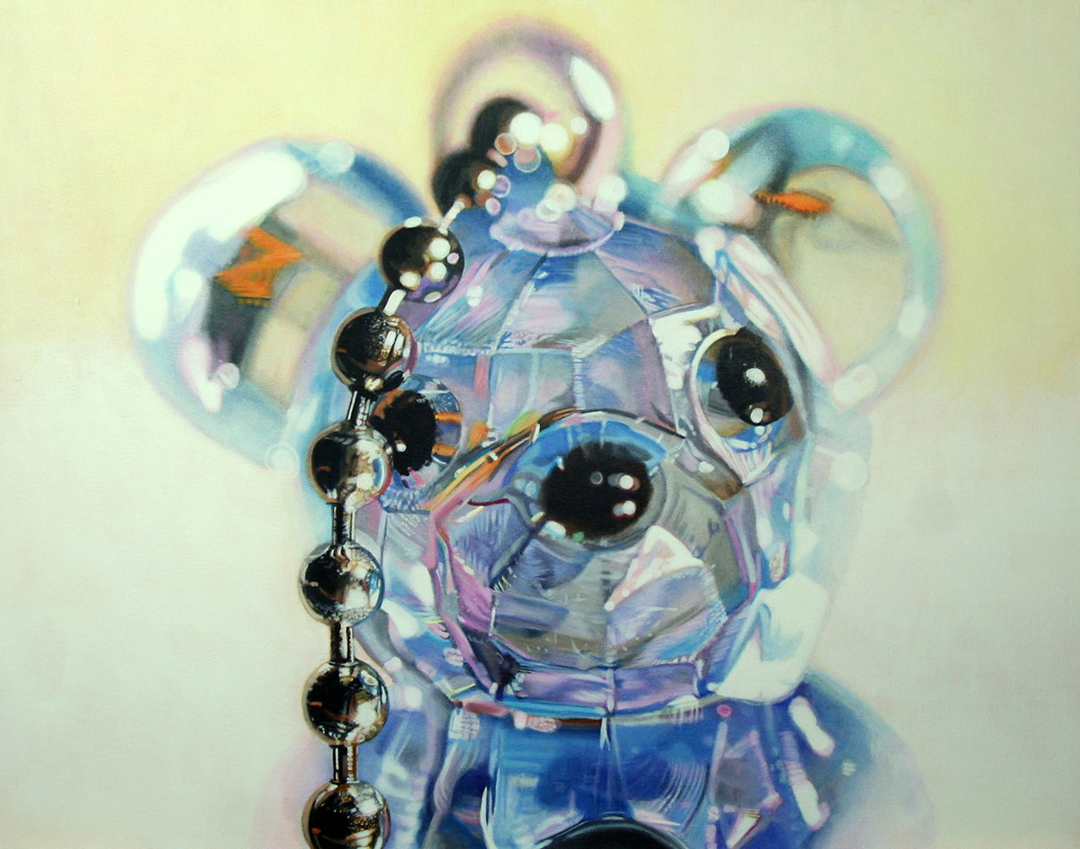 Clear Bear - painting by LJ Lindhurst