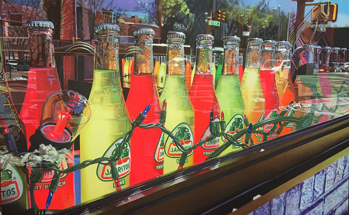 Jarritos painting by LJ Lindhurst