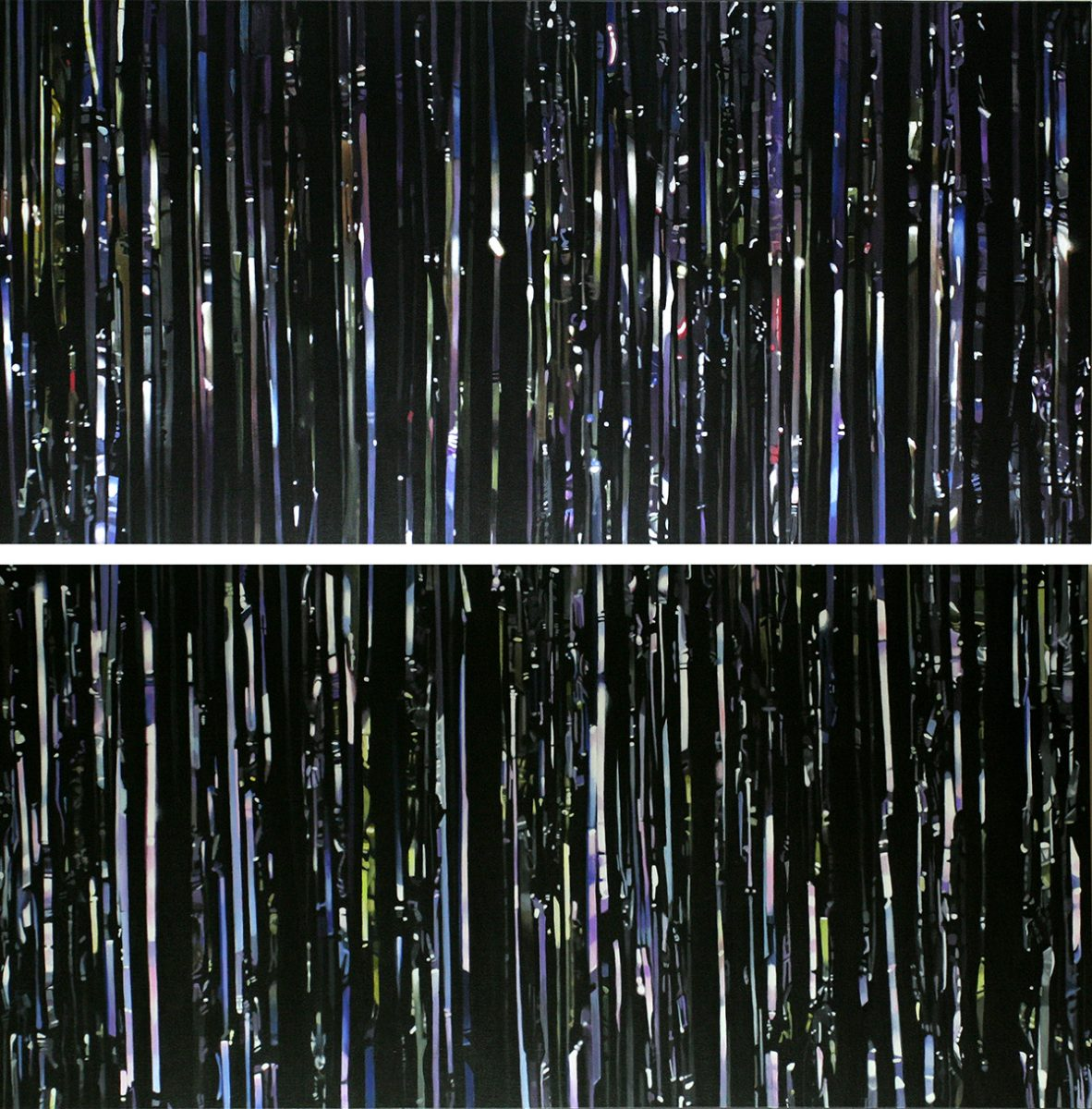 Diptych: Sparkle Curtains