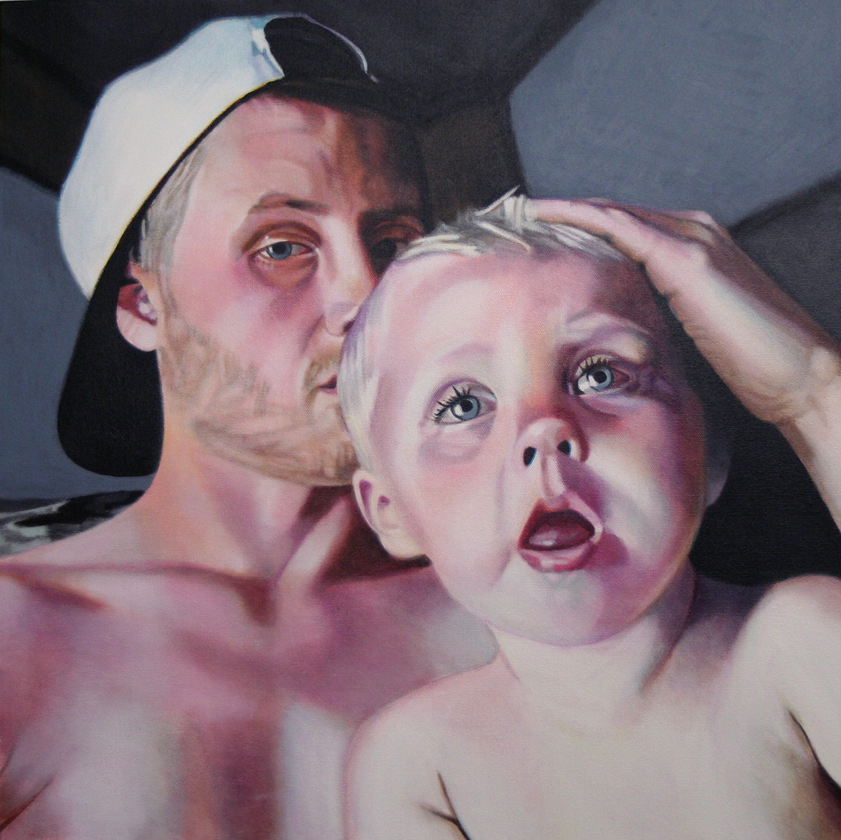 baby painting by LJ Lindhurst